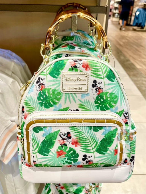 DLR/WDW - Tropical Hello Summer - Loungefly All-Over-Print Backpack