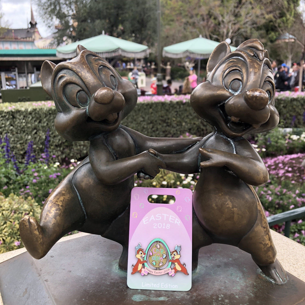 DLR - Easter 2018 Chip N Dale Pin (Limited Edition)