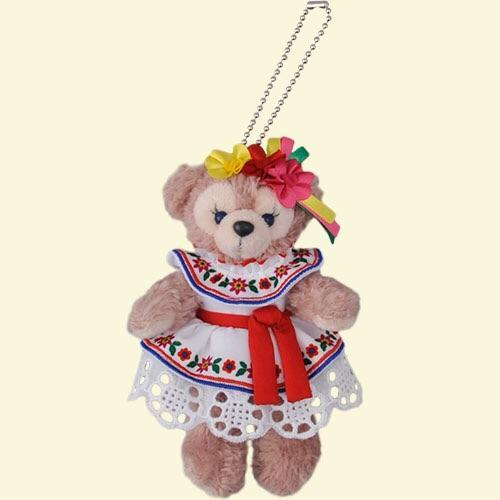 TDR - Duffy & Friends - Plush Keychain x Mexico Costume ShellieMay