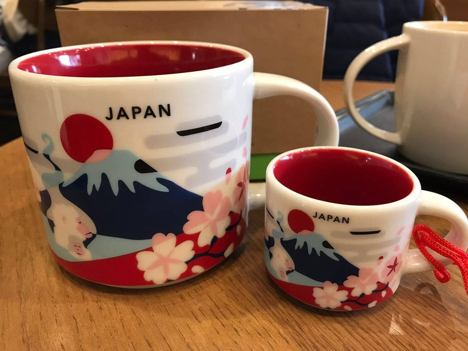Jp Starbucks You Are Here Japan Ornament Espresso Cup