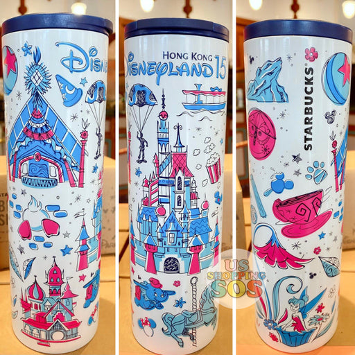HKDL - Starbucks Been There Series Hong Kong Disneyland 15  - Tumbler