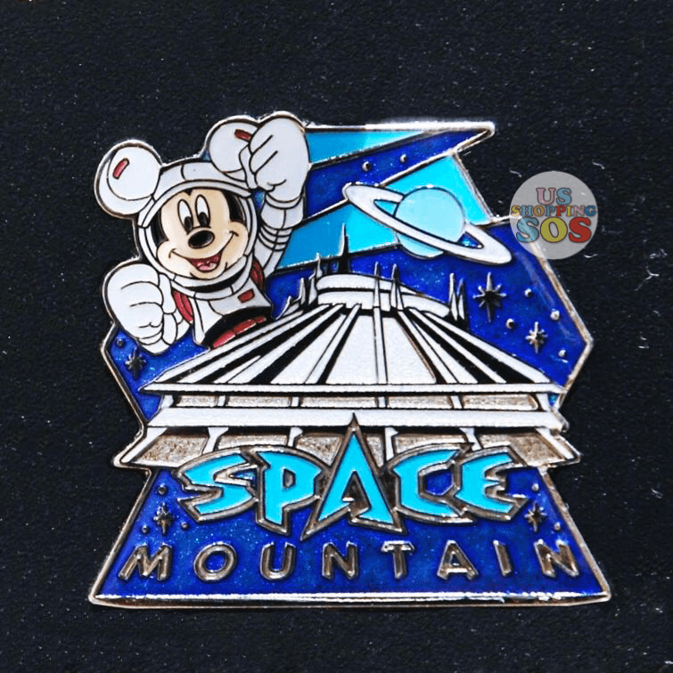 Tdr Space Mountain Pin Usshoppingsos