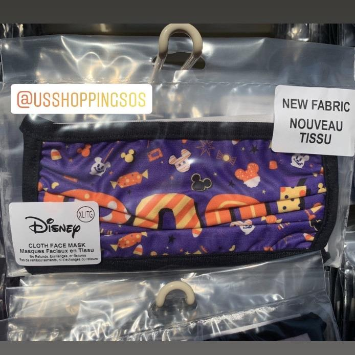 "DLR - 🎃 Halloween Time 2020 - ""Boo"" Cloth Face Mask"