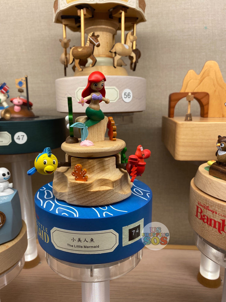HK Disney Local License Collection- Music Box x The Little Mermaid