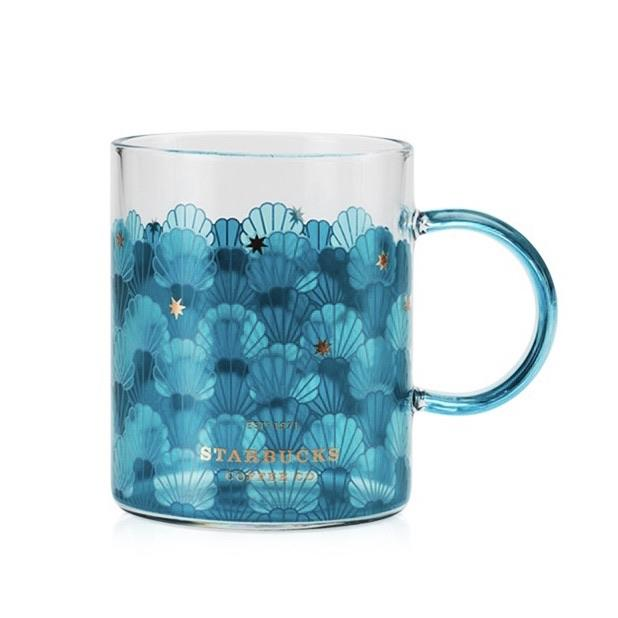 Starbucks China - Anniversary 2020 - Shells Glass Mug 355ml