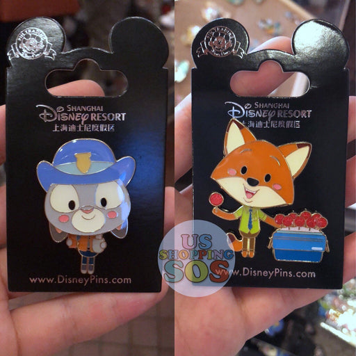 SHDL - Judy & Nick Pin by JMaruyama