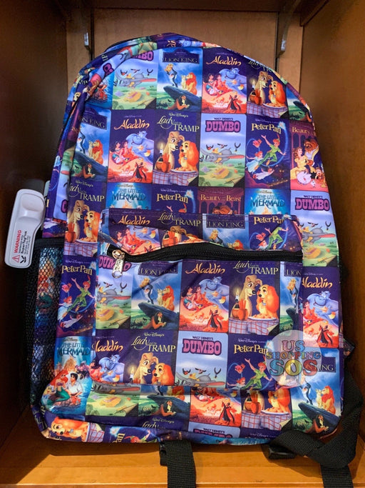 DLR - All-Over-Print Backpack - Disney VHS