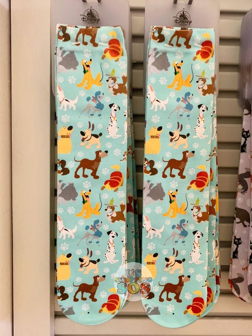 DLR - Disney Dogs All-Over-Print Socks (Adult)