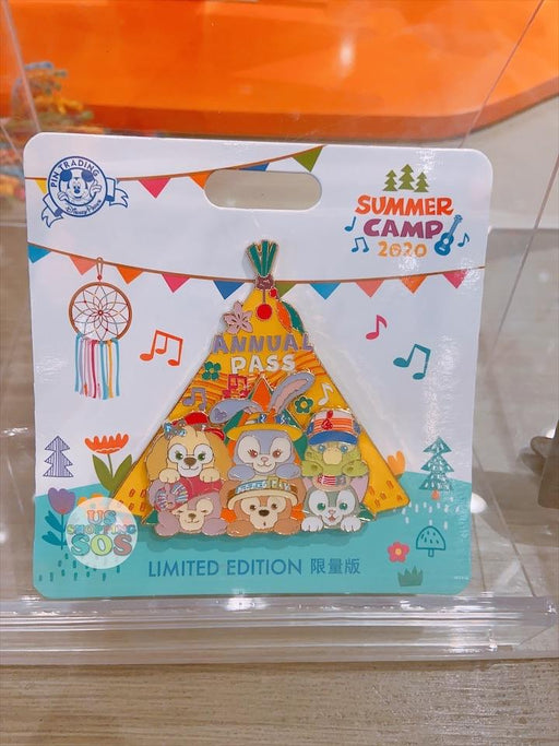 SHDL - Duffy & Friends Summer Camp Collection - Limited Pin
