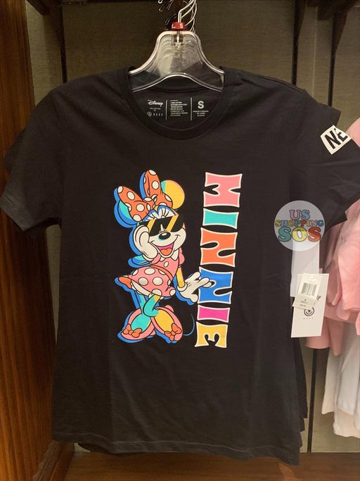 DLR - Neff Mickey & Minnie Color Story Graphic T-shirt (Adult) - Minnie (Black)