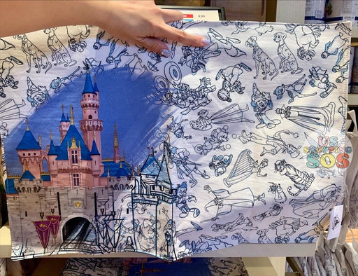 DLR - Ink & Paint - Castle All-Over-Print Placemat