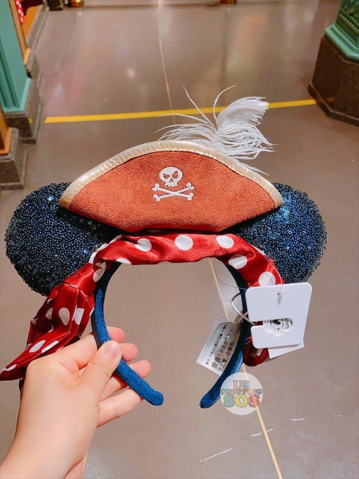 SHDL - 3rd Anniversary - Minnie Pirate Sequin Ear Headband