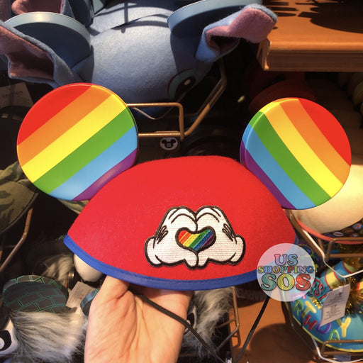 DLR - Mickey Rainbow Ear Hat