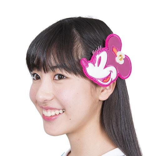 TDR Minnie in Pink Hair Clip