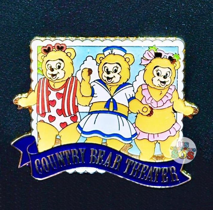 TDR - Country Bear Theater The Sun Bonnet Trio Pin