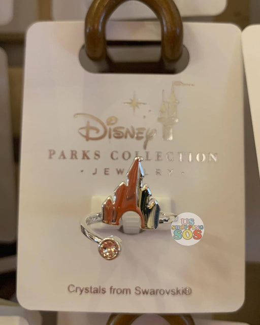 DLR - Disney Parks Jewelry - Swarovski Crystal Castle Ring (Silver)