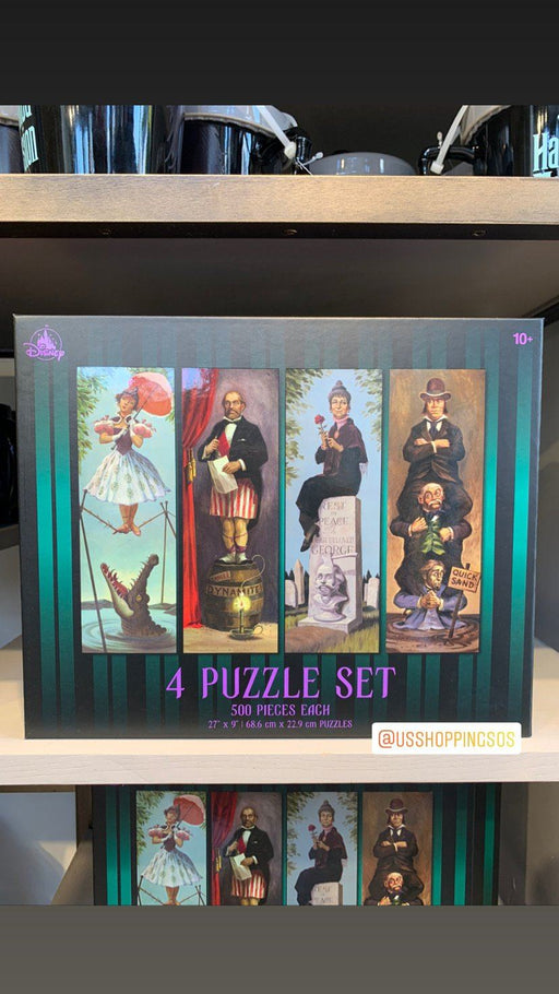 DLR - Haunted Mansion Stretching Room Portraits 4 x 500 Pcs Puzzle (Preorder)