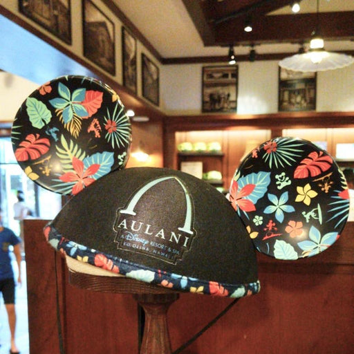 Aulani - Exclusive Mickey Ear Headband (Navy Tropical Floral)