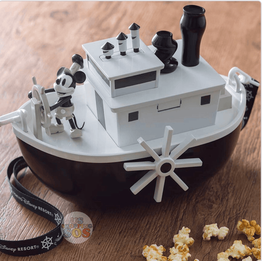 TDR - Popcorn Bucket x Mickey Mouse Steamboat Willie