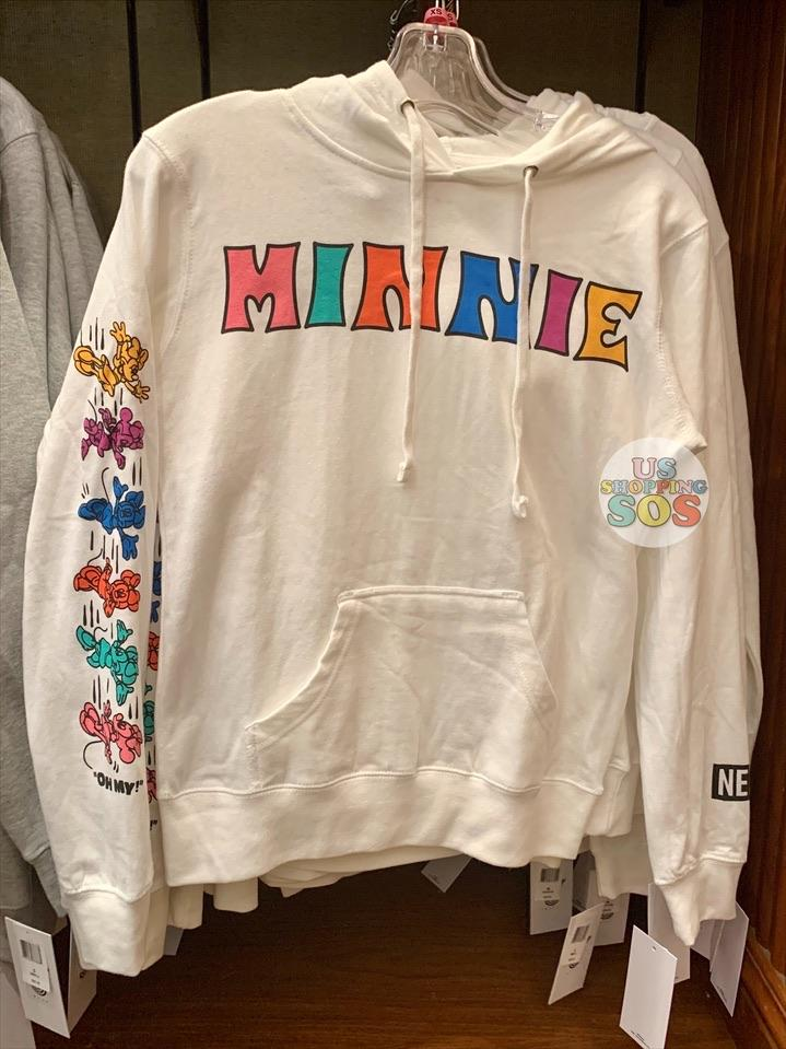 DLR - Neff Mickey & Minnie Color Story Pullover Hoodie (Adult) - Minnie (White)
