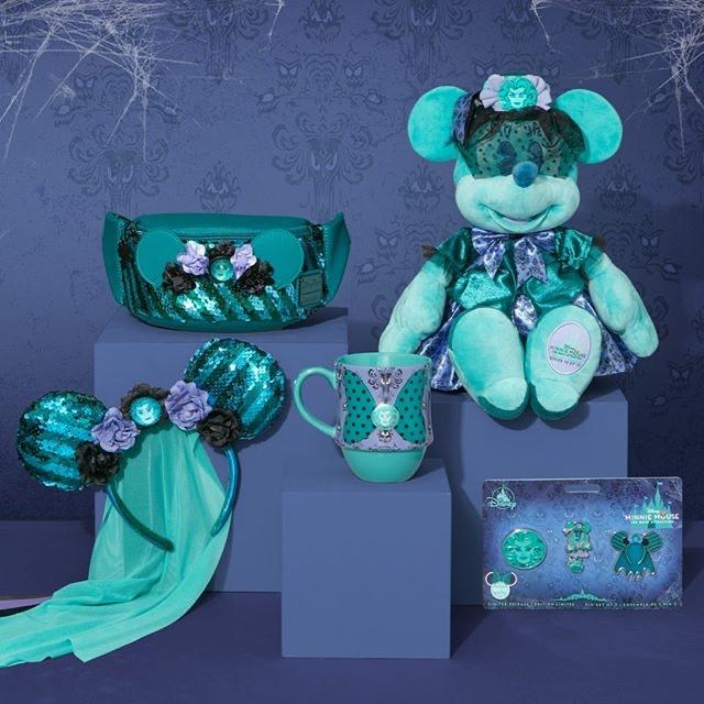 SHDL/SHDS - Minnie Mouse the Main Attraction Series - October (The Haunted Mansion)