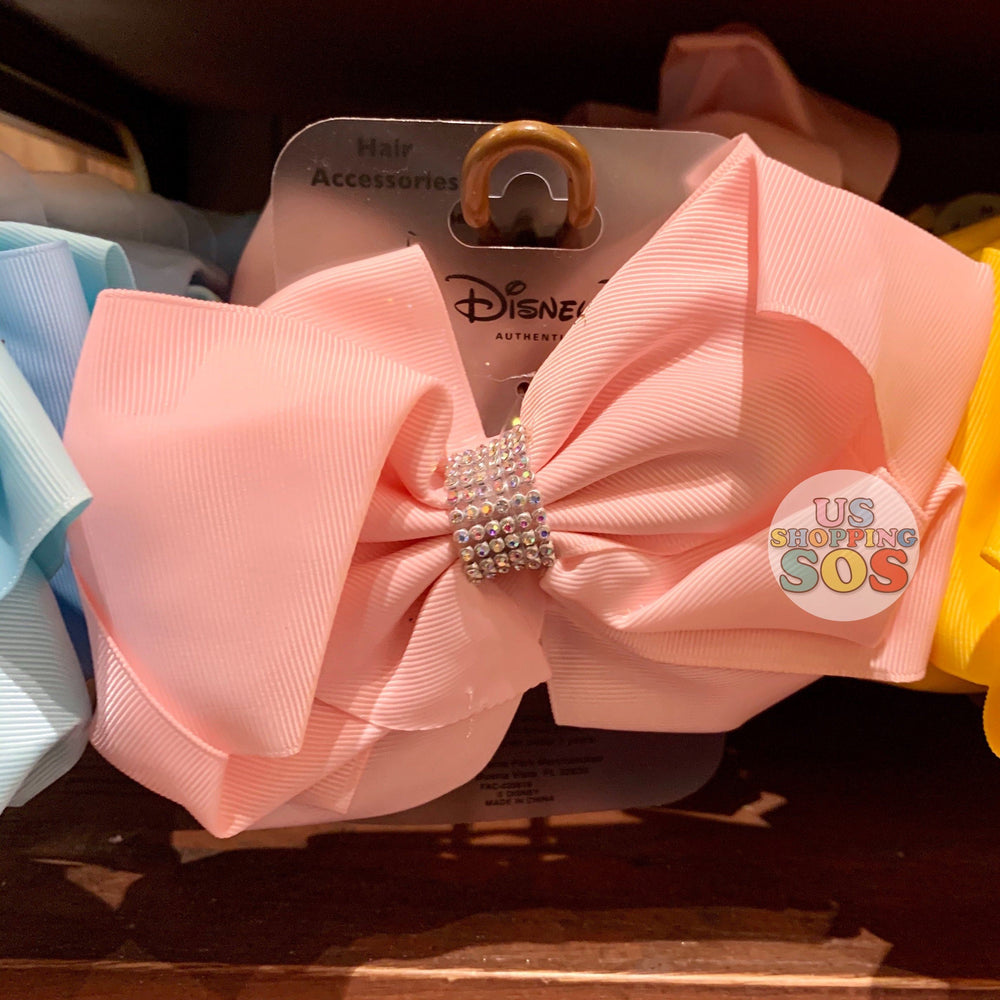 "DLR - ""Bibbidi Bobbidi Boutique"" Big Bow Hair Accessories (Pink)"