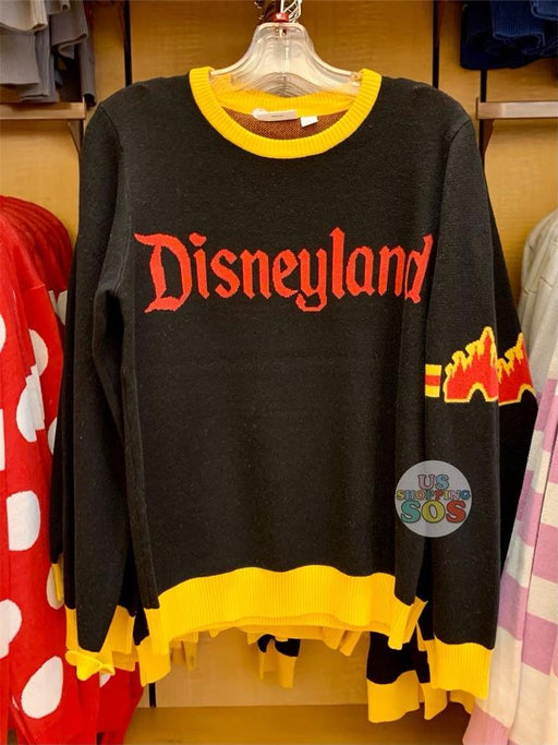 "DLR - ""Disneyland"" Sweater (Adult) - Black/Yellow"