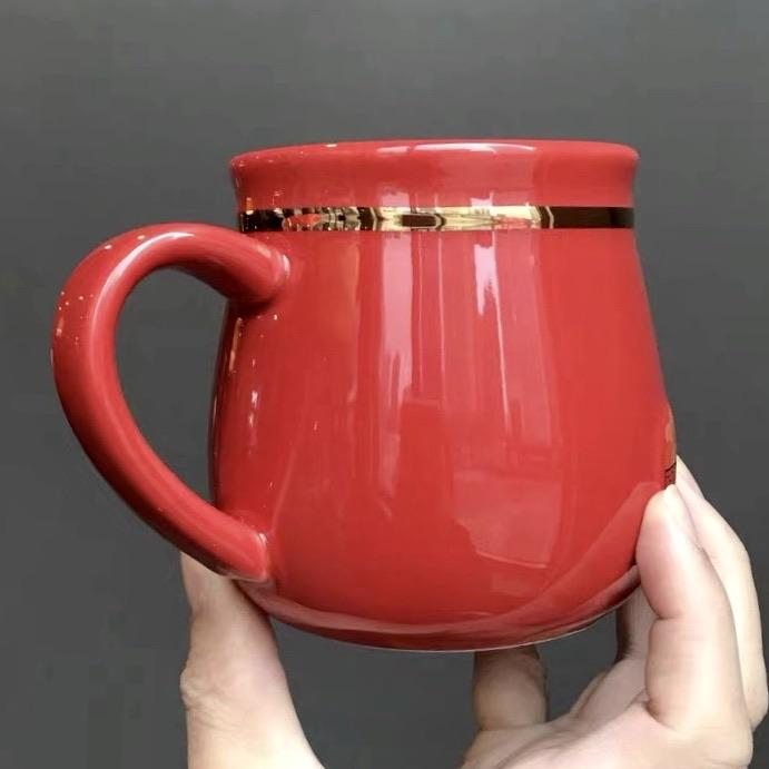 Starbucks China - New Year 2020 Classic Red - 12oz Lucky Bag Mouse Mug