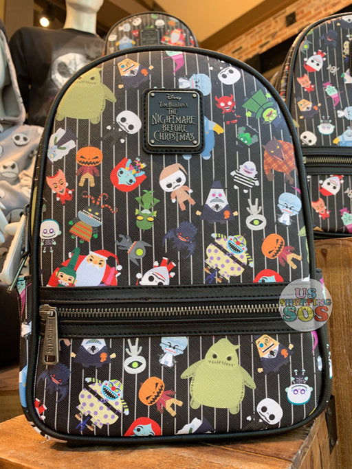 DLR - The Nightmare Before Christmas - Loungefly All-Over-Print Backpack