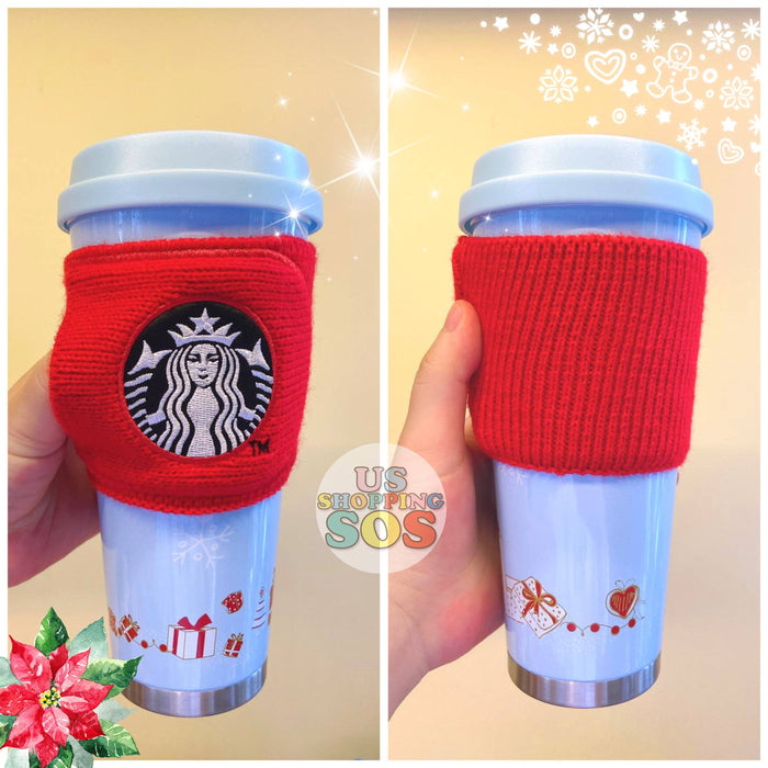 Starbucks China - Christmas Wave - 500ml Cup Sleeve Christmas Box Stainless Steel Tumbler
