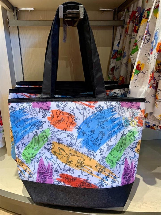 DLR - Ink & Paint - Sorcerer Mickey All-Over-Print Tote Bag