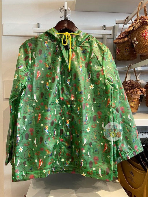 DLR - Enchanted Tiki Room - All-Over-Print Raincoat Jacket (Adult)