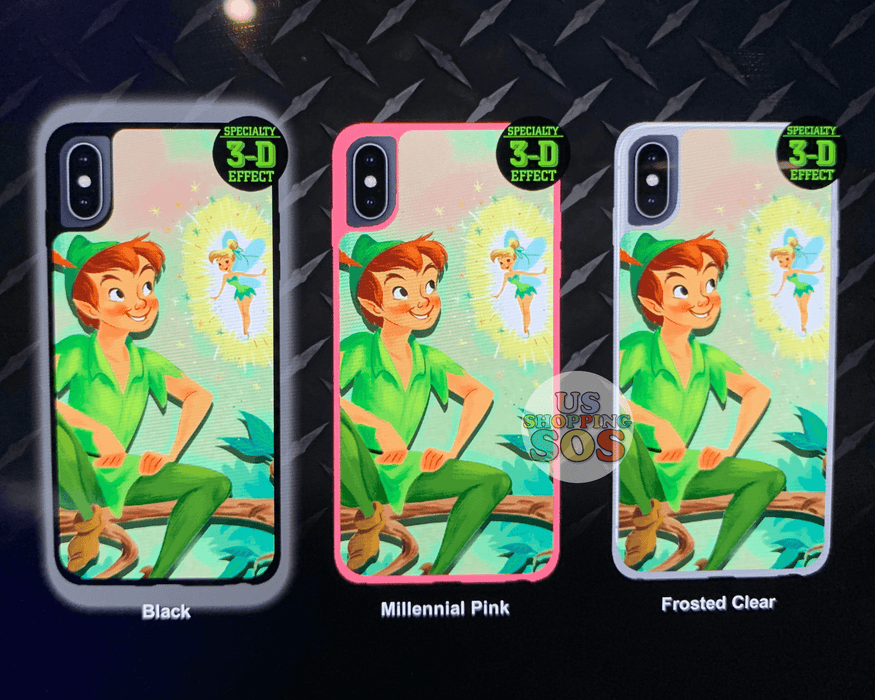 DLR - Custom Made Phone Case - Peter Pan & Tinker Bell Perfect Partners (3-D Effect)