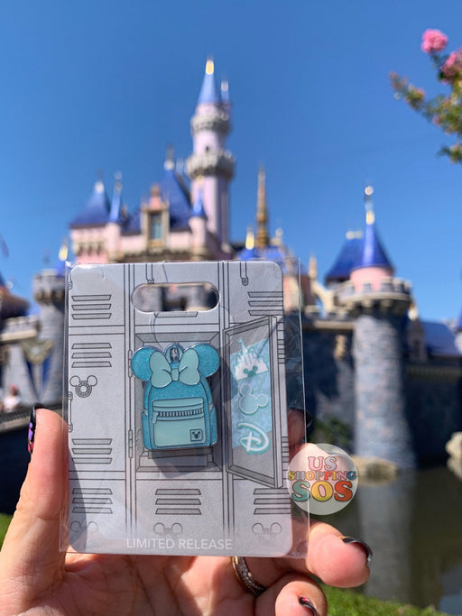 [Last One on Hand!] DLR - Arendelle Aqua - Minnie Backpack Pin