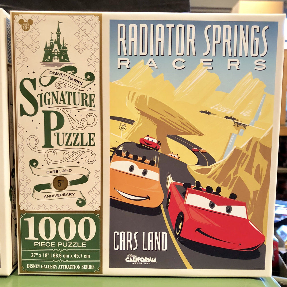 DLR - 1000 Piece Disney Parks Signature Puzzle - Cars Land 5th Anniversary