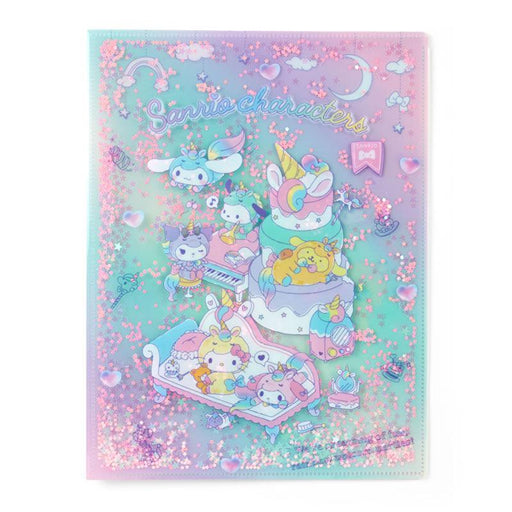 Japan Sanrio - Unicorn Party - A4 Spread Clear File