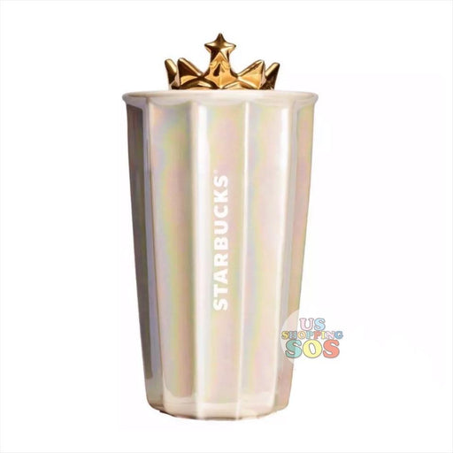 Starbucks China - Anniversary 2020 - Gold Crown Iridescent Double Wall Traveler 297ml