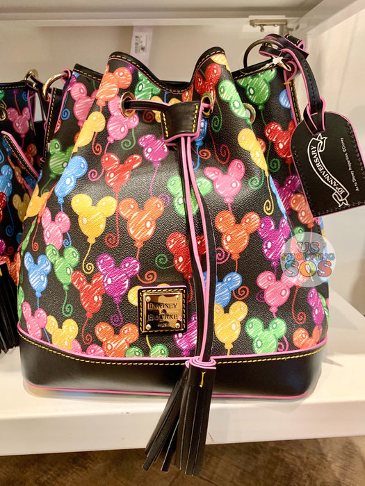 DLR - Dooney & Bourke - Mickey Mouse Balloon 10th Anniversary Cinch Bag