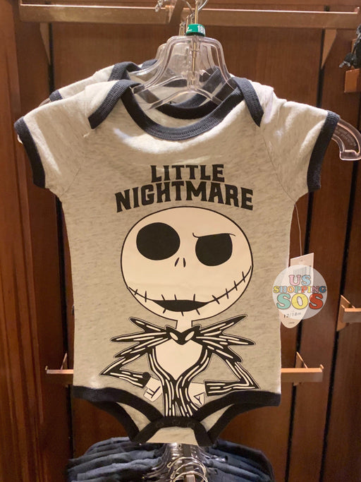 "DLR - Baby Onesie (Infant & Toddler) - Jack Skellington ""Little Nightmare"""