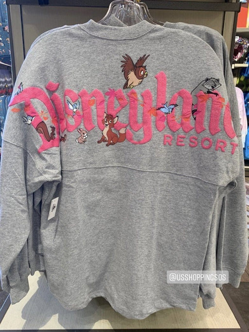 "DLR - ""Disneyland Resort"" Spirit Jersey (Adult) - Forest Friends (Grey)"