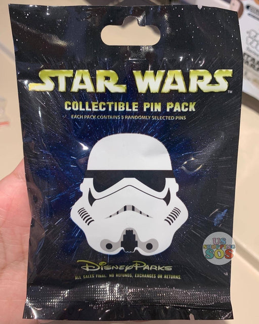 DLR - Mystery Collectible Pin Pack - Star Wars Stormtrooper