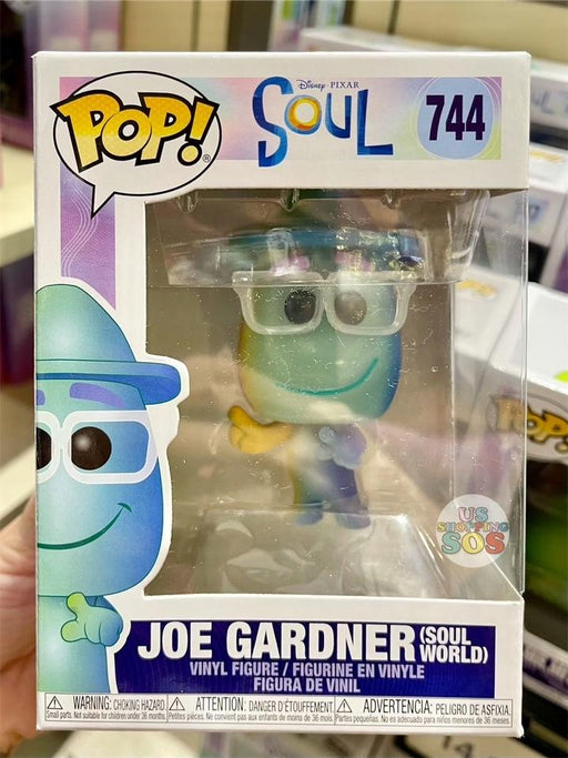 DLR - Funko POP! Soul Figure - Joe Gardner Soul World (#744)