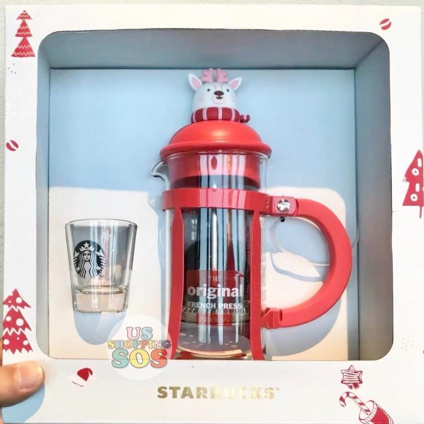 Starbucks China - Christmas Wave - Bodum Reindeer French Press Set
