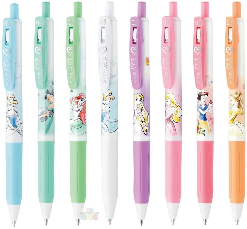 Disney Fairies Tinkerbell Clip Pen Blue