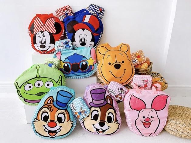 Taiwan Exclusive - Disney Carnival Party Character Face Icon Eco Bag - Mickey Mouse