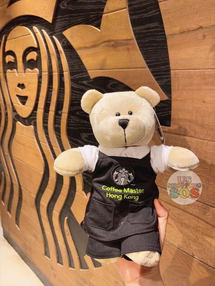 Hong Kong Starbucks - Coffee Master Hong Kong Bearista® Bear