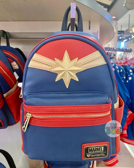 DLR - Marvel's Captain Marvel - Loungefly Backpack