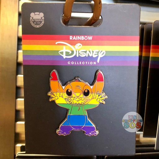 DLR/WDW - Rainbow Collection - Pin Stitch
