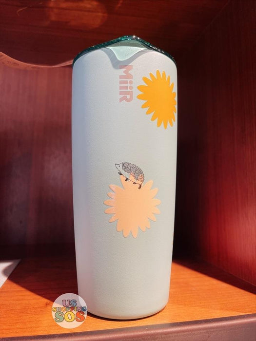 Starbucks Hong Kong - Happy Hedgehog Collection - 20oz Hedgehog And Sunflower Stainless Steel Tumbler