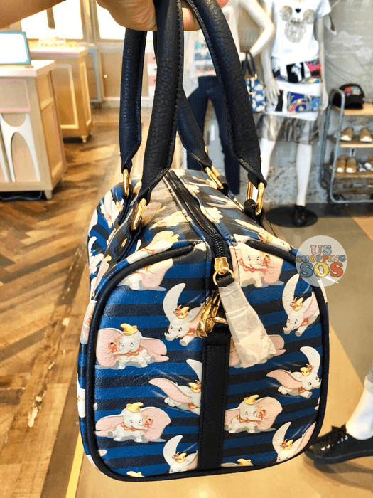SHDL - Dumbo All-Over-Print Bowler Handbag with Long Strap